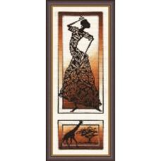 """Набор для вышивки Золотое руно АИ-002 """"Знойный танец"""""""