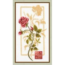 """Набор для вышивки Золотое руно БР-005 """"Отражение розы"""""""