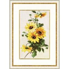 """Набор для вышивки Золотое руно БР-014 """"Солнечные цветы"""""""
