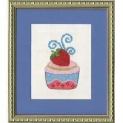 Набор для вышивки Золотое Руно БС-008 Клубничный десерт