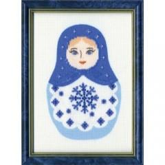 Набор для вышивки Золотое Руно БС-012 Снежинка