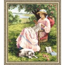 """Набор для вышивки Золотое руно ЧМ-017 """"Яблоневый сад"""""""