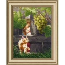 Набор для вышивания Золотое руно ЧМ-059 За виноградом