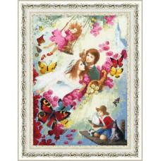 Набор для вышивания Золотое Руно ЧМ-065 Семейное счастье