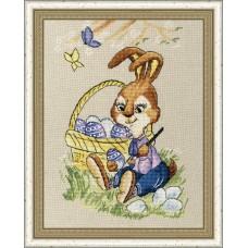 Набор для вышивания Золотое Руно Д-063 Пасхальный кролик