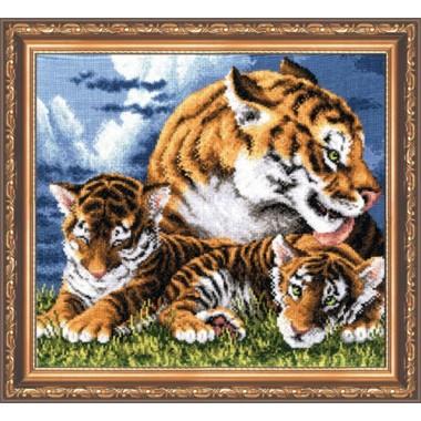 """Набор для вышивки Золотое руно ДЖ-014 """"Тигрята"""""""
