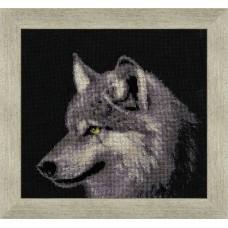 """Набор для вышивки Золотое руно ДЖ-015 """"Серый волк"""""""