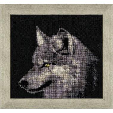 """Набор для вышивки крестом Золотое Руно ДЖ-015 """"Серый волк"""""""