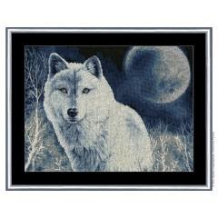 """Набор для вышивки Золотое руно ДЖ-029 """"Белый волк"""""""