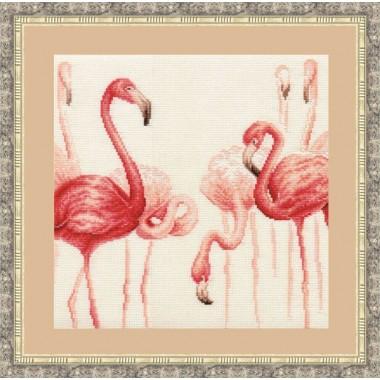 """Набор для вышивки Золотое руно Ф-003 """"Фламинго"""""""