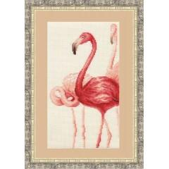 """Набор для вышивки Золотое руно Ф-004 """"Фламинго"""""""