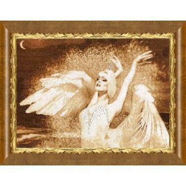 """Набор для вышивки крестом Золотое руно Ф-022 """"Царевна - лебедь"""""""