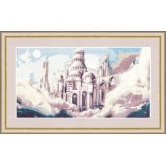 """Набор для вышивки крестом Золотое руно Ф-023 """"Воздушный замок"""""""