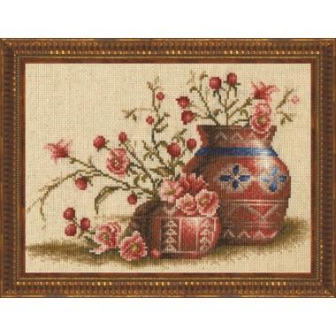 """Набор для вышивки Золотое руно ФИ-003 """"Персиковый цвет"""""""