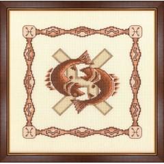 """Набор для вышивки крестом Золотое Руно Г-003 """"Рыбы"""""""