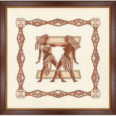 """Набор для вышивки крестом Золотое Руно Г-006 """"Близнецы"""""""