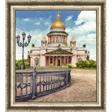 """Набор для вышивки крестом Золотое Руно ГМ-011 """"Исаакиевский собор"""""""