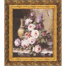 """Набор для вышивки Золотое руно ГН-003 """"Мраморные розы"""""""