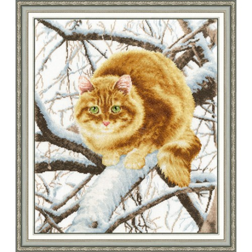 Вышивка крестом наборы коты