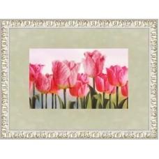 """Набор для вышивки Золотое руно КН-003 """"Розовые тюльпаны"""""""