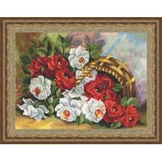 """Набор для вышивки Золотое руно ЛЦ-031 """"Садовые розы"""""""