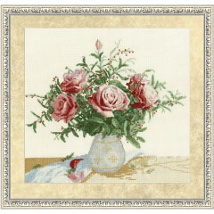 """Набор для вышивки Золотое Руно ЛЦ-047 """"Розы и ягоды"""""""
