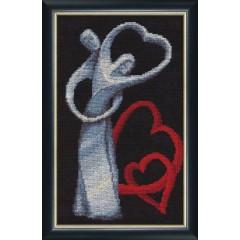 """Набор для вышивки крестом Золотое Руно ЛЖ-003 """"Любовь"""""""