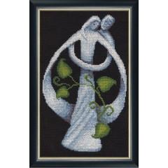"""Набор для вышивки крестом Золотое Руно ЛЖ-004 """"Супружество"""""""