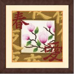 """Набор для вышивки Золотое руно МГ-018 """"Весенний расцвет"""""""