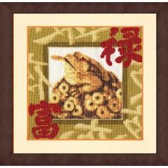 """Набор для вышивки Золотое руно МГ-020 """"Золотая жаба"""""""