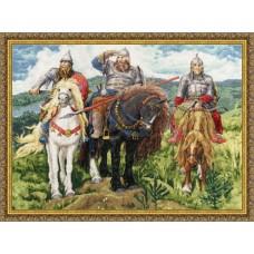 """Набор для вышивки Золотое руно МК-035 """"Три богатыря"""""""