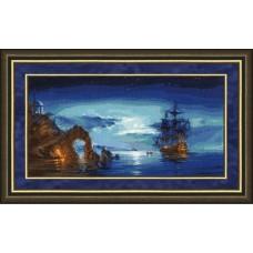 Набор для вышивания Золотое Руно ММ-024 В свете луны (по мотивам картины Р. Романова)