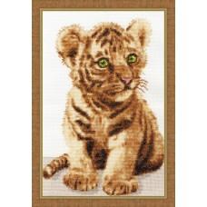 """Набор для вышивки Золотое руно НЛ-043 """"Уссурийский тигренок"""""""