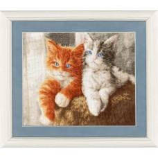 Набор для вышивки Золотое Руно НЛ-047 Пушистые котята