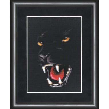 """Набор для вышивки Золотое руно НС-003 """"Пантера"""""""