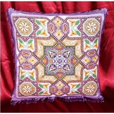 """Набор для вышивки крестом Золотое Руно П-003 """"Арабская подушка"""""""