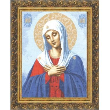 """Набор для вышивки крестом Золотое Руно ПИ-003 """"Икона Божьей Матери Умиление"""""""