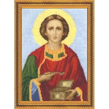 """Набор для вышивки крестом Золотое Руно ПИ-007 """"Великомученик Пантелеймон Целитель"""""""