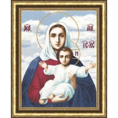 """Набор для вышивки крестом Золотое Руно ПИ-011 """"Леушинская икона Божией Матери"""""""