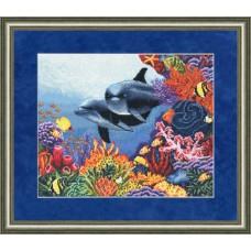 """Набор для вышивки Золотое руно ПМ-010 """"Коралловый сад"""""""