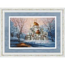 Набор для вышивания Золотое руно РП-012 Воскресенский собор Новоиерусалимского монастыря