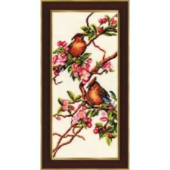"""Набор для вышивки крестом Золотое Руно РС-001 """"Яблоня в цвету"""""""