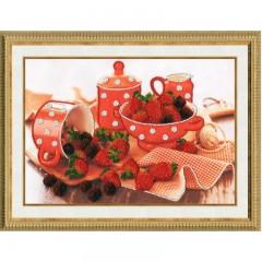 Набор для вышивки Золотое Руно РТ-018 Аромат ягод
