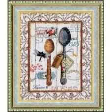 Набор для вышивки Золотое Руно РТ-094 Стильная кухня. Ложки