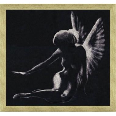 """Набор для вышивки крестом Золотое Руно С-003 """"Тень ангела"""""""