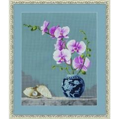 """Набор для вышивки Золотое руно СЖ-024 """"Розовая орхидея"""""""