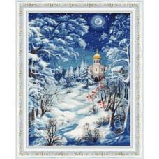 Набор для вышивания Золотое руно СО-014 Волшебница-зима