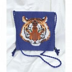 """Набор для вышивки Золотое Руно СУ-005 """"Сумка Тигр"""""""