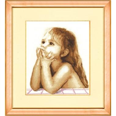 """Набор для вышивки крестом Золотое Руно СВ-003 """"Детские мечты"""""""