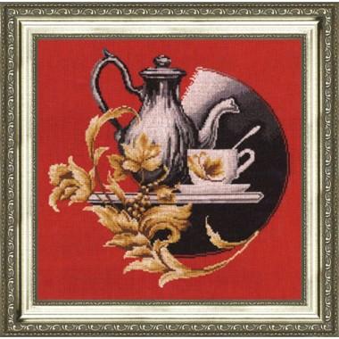 """Набор для вышивки крестом Золотое Руно СЖ-006 """"Натюрморт на красном"""""""